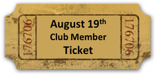 Wine Club Release Party - Sunday 8/19/18 Member Ticket