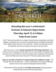 Uncorked Winemaker Table